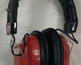 Winston Motorsport Vintage Headphones AM/FM Model PT-10010