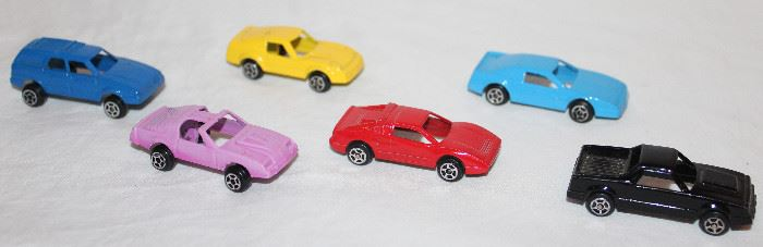 Collection of Vintage Tootsie Toy Cars