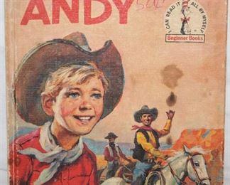 """Dr Seuss Vintage 1959 """"Cowboy Andy"""". Book"""