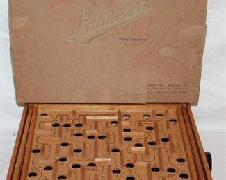Labyrinth vintage game by Brio