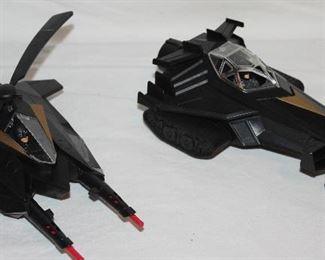TM & DC Comics:  Batman's Batcopter  M5071 & Batmobile/Tank M5072 TM&DC Comics*(#349)