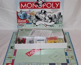 2007 Monopoly (never used)