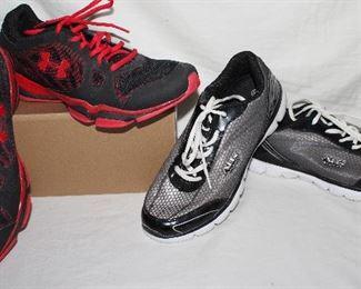 Under Armour gym shoes Men's size 10. Air balance shoes Men's size 10.