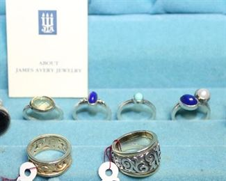 James Avery Ring Collection: