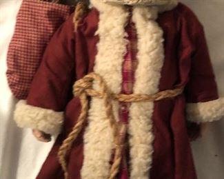 """Sarah's Attic 1990 Santa #170 (17"""")"""