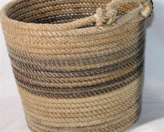 Vintage Nylon Heeler/Header Rope Bucket