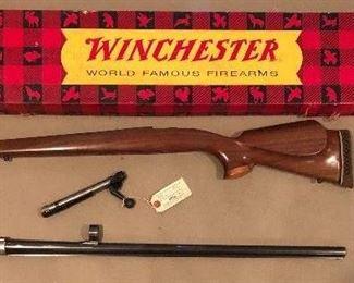 Winchester Model 70 Custom Made Wood Stock. Complete Model 70 Bolt Assembly                       Remington Model 11 Barrel | 12 Gauge.