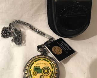 """John Deere """" Tractor Model D """" Limited Edition Collectors Edition  Pocket Watch"""