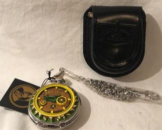 """John Deere """" Tractor Model A"""" Limited Edition Collectors Edition  Pocket Watch"""