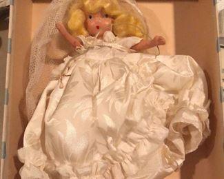 "Vintage 1940's Nancy Ann Family Series ""Bride"" Doll"