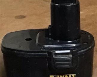 DeWalt 14.4 volt extended Run time battery pack.  Model DW9091