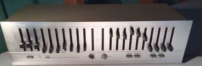 BSR EQ-110X 10-Band Stereo Frequency Graphic Equalizer