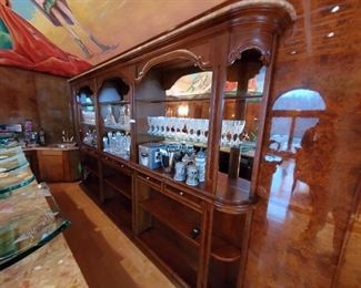 Two part back bar