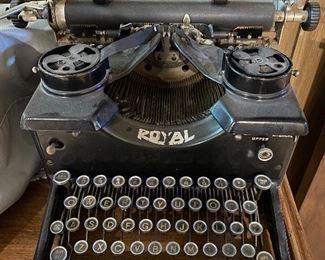 One of a few typewriters