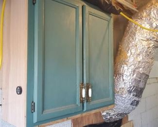 Two door cabinet.