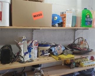 Life jackets, wax, kilz, home and auto tools and products