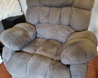 Big, comfy recliner