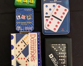 Dominos and games
