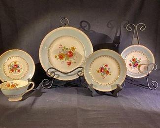 Eggshell Georgian Homer Laughlin dinnerware