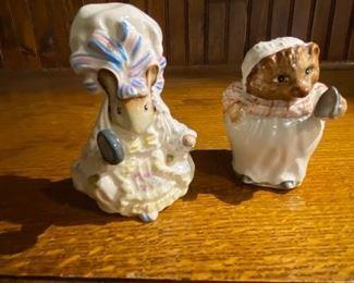 Beatrix Potter's figurines