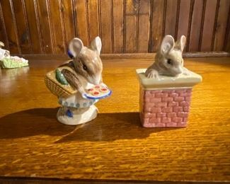 "Beatrix Potter's ""Appley Dapply"", Royal Albert Tom Thumb"