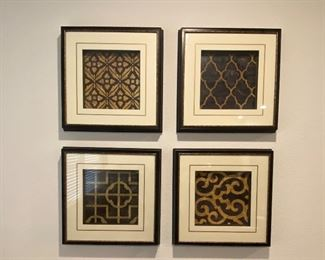 Paragon Picture Gallary Ebony set of 4