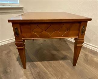 Vintage Bassett Furniture side table