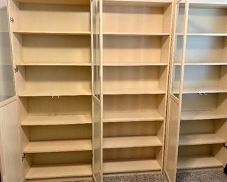 Large office storage. 3 separate shelves