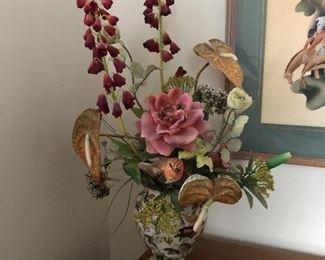 high end faux florals