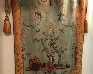 tapestry with hardware
