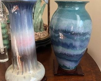 signed pottery pieces
