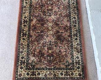 small silk rug