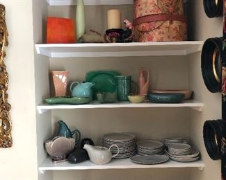 MCM pottery and dishes