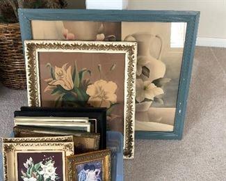 MCM floral prints