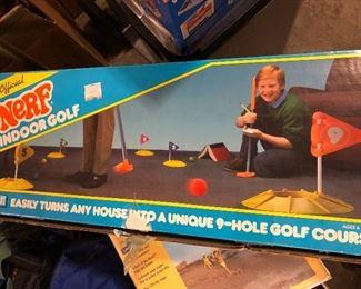 Vintage nerf golf