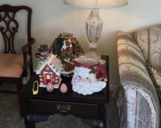 End table - Christmas decor