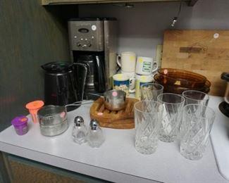 Coffee maker, kitchen