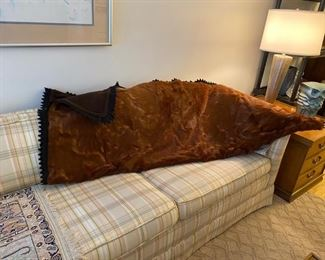 Authentic Horse Hair Blanket