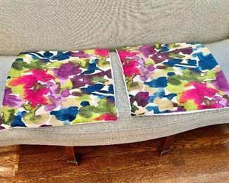 """$90 - Pair custom pillow covers. Each 21"""" x 21"""""""