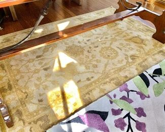"$350 - Hand woven rug - 69.5"" x 47"""