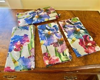 "$40 - Set of 4 Bodrum napkins. Each 21"" x 21"""