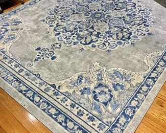"""$350 - Safavieh """"Brentwood"""" area rug -  light blue and gray - 8' x 10'"""