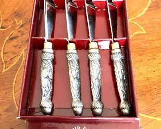 """$15 Arthur Court butter knives or spreaders. Each 5.5"""" L."""