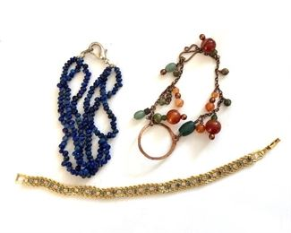 $15 each - Bracelets top two bracelets SOLD, bottom one available