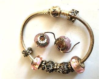 $60 bracelet $40 earrings detail