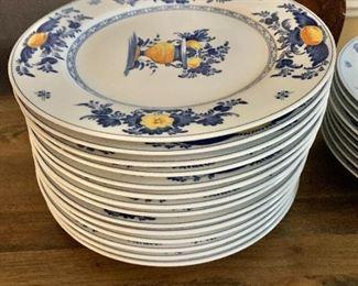 "$280  - 14 dinner plates each 10.5"" diam."