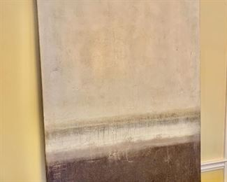 """$1,850 - Brent Smith """"White Space""""  contemporary oil/acrylic on canvas"""