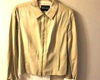 $120 Giorgio Armani part leather jacket