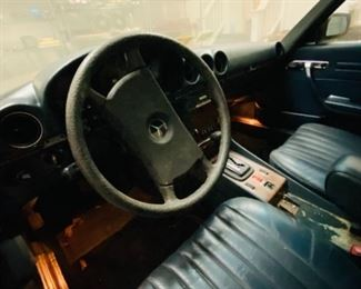 1985 Mercedes 380SL Convertible - 105k miles - Needs Service - Garage Kept - See Additional Detailed Pics.