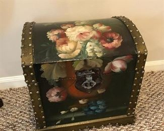 Painted chest - $40